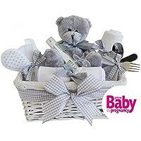 Shimmer vimini cestino regalo unisex da bambino/bambino Cesto Regalo di nuovo arrivo regali//maternità regalo/unisex bambino (Cesti Bambino Di Vimini)