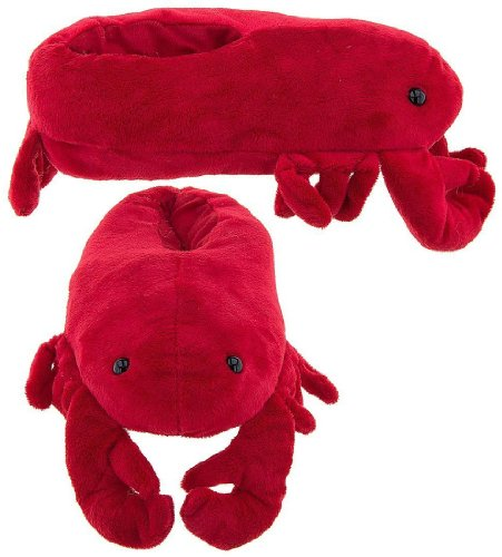 wishpets-adults-medium-red-lobster-slippers