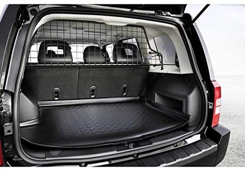 Kleinmetall Masterline für Chrysler Jeep Patriot Bj. 2007 bis 2017 passgenaues Trenngitter/Hundegitter/Gepäckgitter