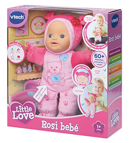 VTech - ROSI, muñeca interactiva, Little Love 3480-169422