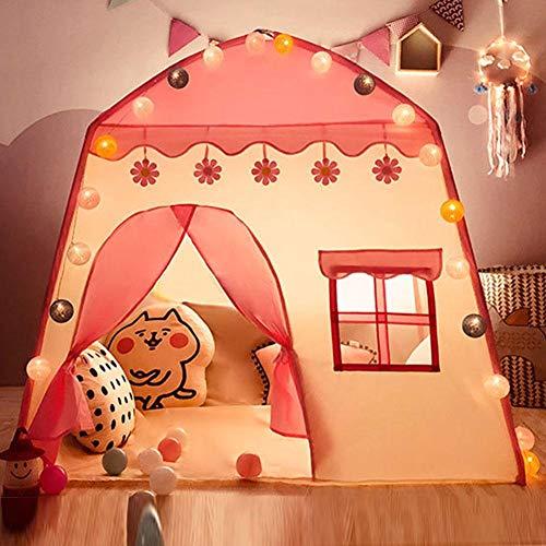 Kinder Spielen Zelte für Mädchen und Jungen, Mädchen rosa Prinzessin Toy House/Blue Boy Play House, Kinderspielzeug für Indoor-und Outdoor-Spiel