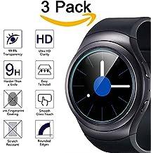 Samsung Gear S2 Classic Pellicola Vetro Temperato, KIMILAR (3-Pack) Premium temperato vetro pellicola per Samsung Galaxy Gear S2 classico orologio Smart