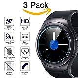 Samsung Gear S2 Protecteur d'écran, Premium (Pack de 3) KIMILAR trempé Film verre protecteur d'écran pour Samsung galaxie Gear S2 classique montre intelligente