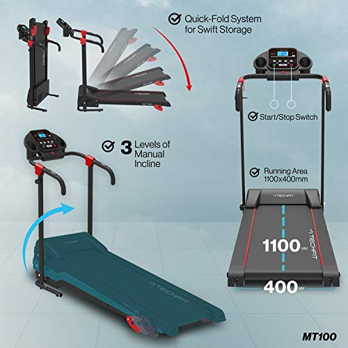 Zoom IMG-2 techfit mt100 tapis roulant elettrico