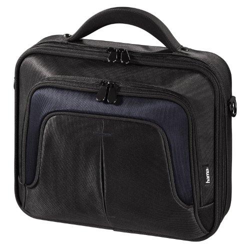 Hama Notebooktasche Dallas, bis 31 cm (12,1 Zoll) schwarz/blau