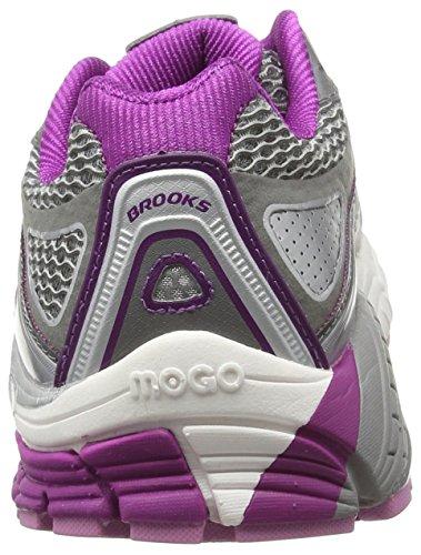Brooks Ariel '14-120164 1b 085, Scarpe da Trail Running Donna Grigio (Smoked Pearl/Hollyhock/Violet 085)