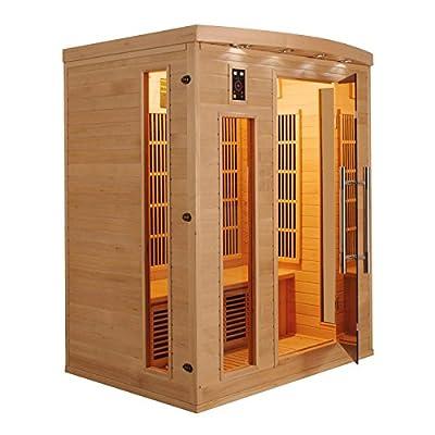 Sauna-Batterielampe APOLLON, 3-Sitzer von France Sauna - Du und dein Garten