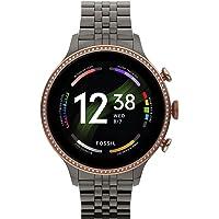 Fossil Gen 6 Smartwatch with AMOLED screen, Snapdragon 4100+ Wear platform, Wear OS by Google, Google assistant, SpO2…