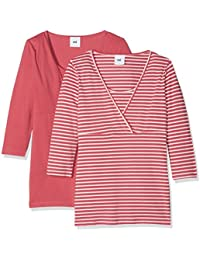 Mamalicious Women's Long Sleeve Top Pack Of 2