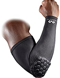 McDavid Hex Pad Power Shooter Arm Sleeve - Small (Black)