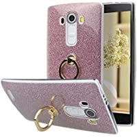 Tasche Hülle für LG G4 / H818 (5,5 Zoll), LG G4 Hülle Ring, Moon mood [Weiche TPU Abdeckung + Glitzer Papier]... preisvergleich bei billige-tabletten.eu