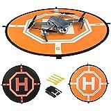 Landing Pad pro RC Drones vrtulník Dji Mavic pro, vhodné i pro Phantom 2/3/4/4pro, Inspire 2/1, 3DR Solo, Quadcopters, GoPro Karma, Parrot & More. 31palců, s reflexními Oblastech, od Comecase