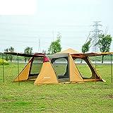 im Freien3-4 automatische Doppel Zelt/Unterwegs mit der Familie Wiedervereinigung Menschen camping Campingzelt-A