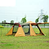 al aire libre3-4 carpa doble autom¨¢tica/Viaje en familia reuni¨®n personas camping tienda de campa?a-A