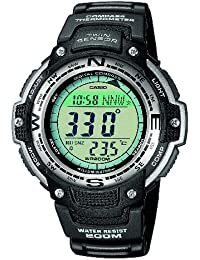 Casio Collection – Herren-Armbanduhr mit Digital-Display und Resin-Armband – SGW-100-1VEF