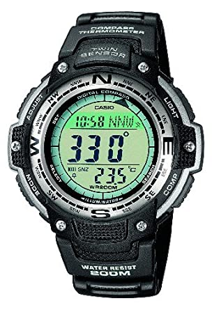 casio temperature montre