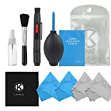 Camera Cleaning Kit for Optical Lens and Digital SLR Cameras including 1 Double
