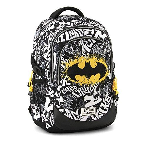 Karactermania Batman Tagsignal-Running HS Backpack Rucksack, 44 cm, 21 liters, Grau (Grey) Preisvergleich