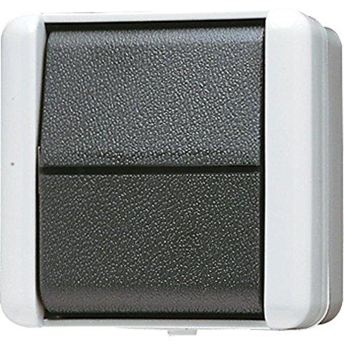 Preisvergleich Produktbild Jung 806 W AP-Wechselschalter IP44 WG800 bruchsicher