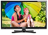MEDION LIFE P12243 (MD 21340) 59,9cm (23,6 Zoll) LED-Backlight-TV (Full-HD (1080p), HD Triple Tuner, Integrierter DVD-Player, Integrierter Mediaplayer, Energieeffizienzklasse A) schwarz
