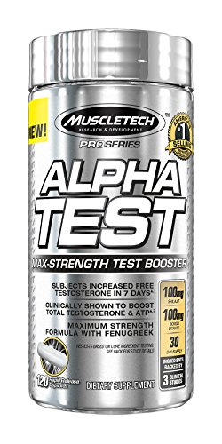 Preisvergleich Produktbild Muscletech Pro Series Alpha Test Standard, 120 Rapid-Release Capsules