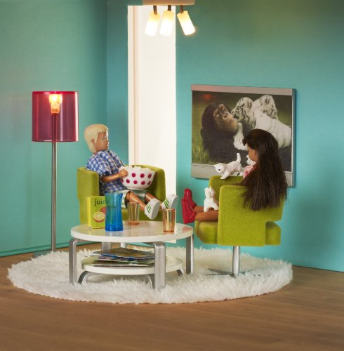 Lundby 60.9028.00 - Stockholm: Set per TV (accessori per casa delle bambole)
