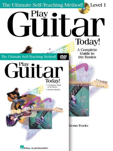 Play Guitar Today! Level 1 Pack [With CD (Audio) and DVD] (Ultimate Self-Teaching Method!)
