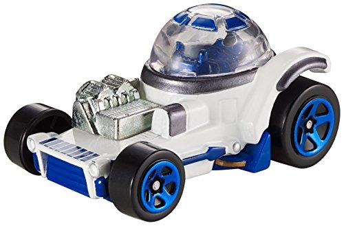 Star Wars R2 D2 Hot Wheels Charakter Fahrzeug im Maßstab 1 : 64 Spiel und Sammelfahrzeug (Hotwheel R2d2)