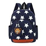 Uworth Sterne Kleinkind Kinder Rucksack für Kindergarten Junge Babyrucksack Schultasche