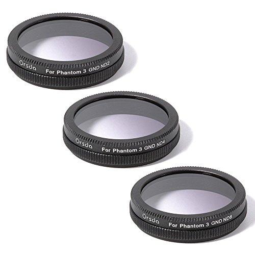 xcsourcer-gradiente-gris-nd2-nd4-nd8-filtro-de-densidad-neutra-conjunto-de-lentes-para-dji-phantom-4