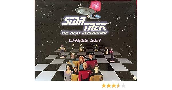 Star Trek The Next Generation Chess Set