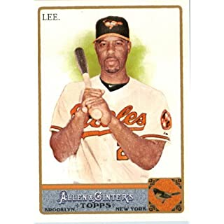 2011 Topps Allen & Ginter GLOSSY Edition Baseball Card (#'d out of 999) #269 Derrek Lee Baltimore Orioles In a