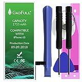 GadFull Batteria compatibile con iPhone 6S | 2018 Data di produzione | Manuale Profi Kit Set di Attrezzi | Batteria di ricambio senza cicli di ricarica | Con tutti gli APN originali