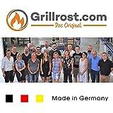 Grillrost.com Das Original Edelstahl Dreibein-Grill | Hingucker | zusammenklappbar | Massives Deutsches Produkt