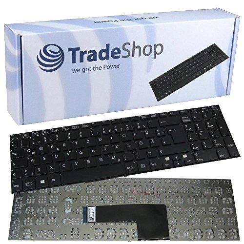 Orig. Laptop-Tastatur / Notebook Keyboard Ersatz Austausch Deutsch QWERTZ für Sony Vaio Fit SVF152100C SVF15217SCW SVF15218SCB SVF1521V5CW SVF152A29M SVF152C29M SVF15314SCW SVF15317SCW (Deutsches Tastaturlayout)