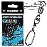 Angel Berger Scan-Powerwirbel mit Stahlschließe Meereswirbel Hochseewirbel