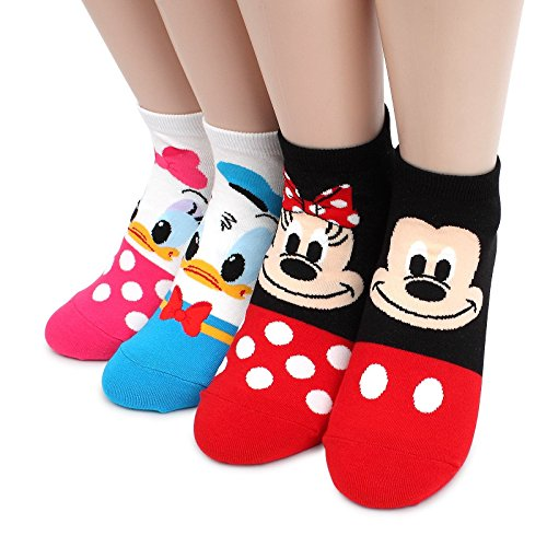 Disney Licensed Socks Collection With Intype Pouch (UK 3.5-6)
