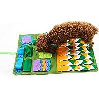 Gorgebuy Schnüffelteppich - Bunt Schnüffelteppich für Hunde, Interaktives Spielzeug Haustier Hunde Katzen,45x75cm