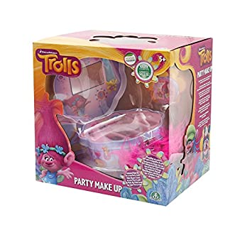 TROLLS – Party make up, estuche de maquillaje (Giochi Preziosi TRL08000)