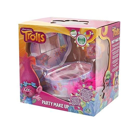 Trolls - Party make up, estuche de maquillaje