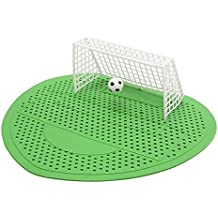 3 Pc Urinal Mat Football Soccer Shoot Goal Style For Hotel Home Club Deodorization Screen Filter