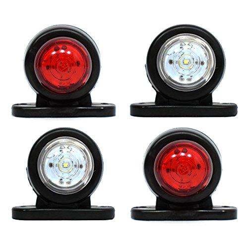 4 x LED 12V 24V Mini Begrenzungsleuchte Positionsleuchte Markierung LKW PKW MAN (Led-positionsleuchten)