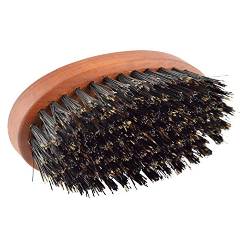 Boar-Bristle-Beard-Brush-For-Men-With-100-First-Cut-Boar-Hair-Made-in-Pear-Wood-With-Firm-Bristles-To-Tame-and-Soften-Your-Facial-Hair
