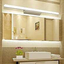 apliques para bao led de hierro tono acrlico impermeable anti niebla luz delantera espejo bao