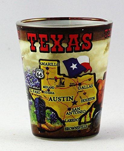 Texas Collage (Texas State Collage Shot Glas RTP)