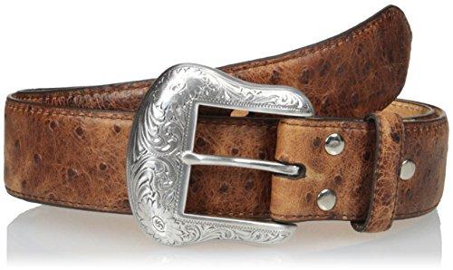 Nocona Belt Co. Nocona Men's Full Vintage Ostrich, Brown, 36