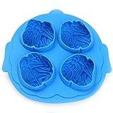 Kreative Gehirn Eis-Form-DIY-Eis-Behälter-Geschenk 4.3 * 0.7