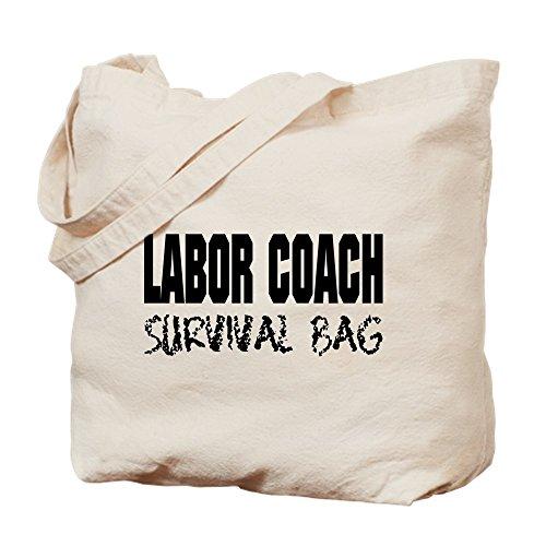CafePress–Arbeit Coach Krankenhaus Überleben–Leinwand Natur Tasche, Reinigungstuch Einkaufstasche Tote S khaki