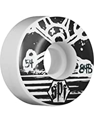 Bones Blackout Skatepark Formula 84B Wheels Black/White 54mm