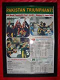Sports Prints UK Pakistan 2009Icc Welt Twenty20Gewinner–Kunstdruck, gerahmt